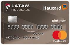 Cartão Itaú Card Latam Fidelidade - Estacionamento de Guarulhos / Cumbica - GRU