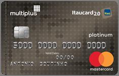 Cartão Itaú Card Multiplus Platinum - Estacionamento de Guarulhos / Cumbica - GRU