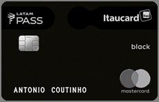 Cartão Itaú Card Latam Pass Black - Estacionamento de Guarulhos / Cumbica - GRU